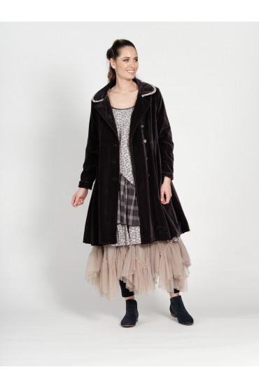 Бархатное пальто