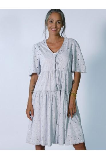 Платье на застежке Rhum Raisin