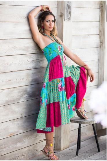 Платье-юбка бохо Rhum Raisin